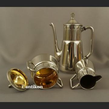 Serwis WMF do kawy herbaty platerowany