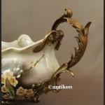 Patera porcelanowa piękna z ptakami