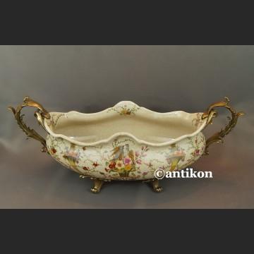 Patera porcelanowa wielka na prezent ślubny l