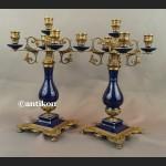 Kandelabr barokowy Świecznik pięcioramienny