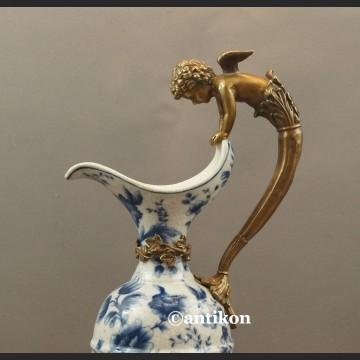 Dzban do wody duży porcelanowy wzór cebulowy