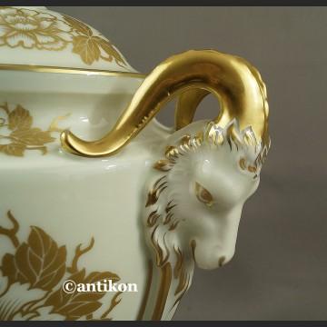 Rosenthal Empire biało złota unkatowa amfora