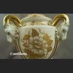 Wazon Rosenthal biało złoty unkatowa amfora