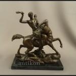 Herkules walczący z centaurem figura z brązu