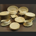 Serwis Ivory Thomas Rosenthal obiadowy na 12 os