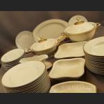 Serwis obiadowy art deco Hutschenreuther gr. Rosenthal na 12 osób