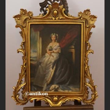 Obraz olejny Portret rokokowej damy