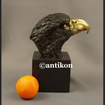 Rzeźba z brązu Orzeł piękny brąz na prezent