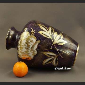 Stary wazon HERTEL - JACOB piękna porcelana