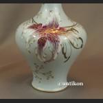Wazon Rosenthal duży ręcznie malowany kwiaty