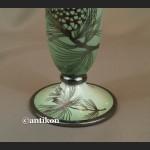 Rosenthal wazon w stylu art deco okuty srebrem