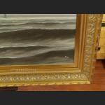 Obraz samotny biały żagiel wielki do salonu