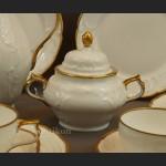 Serwis Rosenthal Sanssouci 12 osobowy biały do herbaty lata 40 XX w