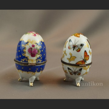 Jajko  porcelanowe puzderko na biżuterię