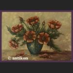 Maki martwa natura V.d. BERG obraz olejny