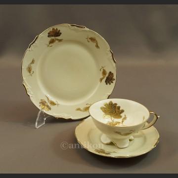 Stara filiżanka Bavaria porcelanowe trio
