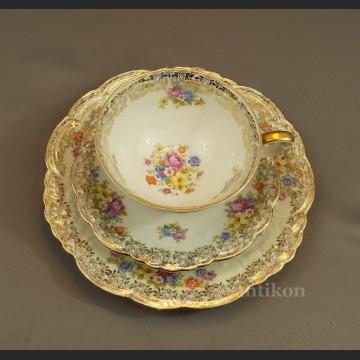 Antyczna filiżanka porcelanowa stara bawarska porcelana