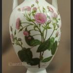 Wazon Rosenthal duży biały z różą