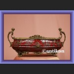 Żardiniera porcelanowa waza z syrenami