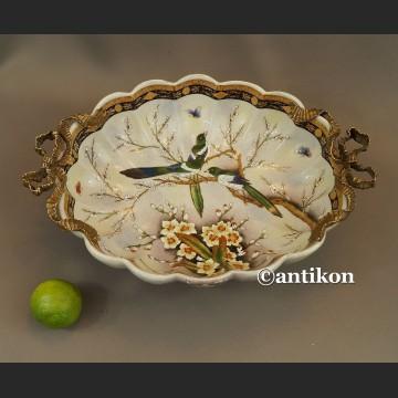 Patera porcelanowa z jaskółkami