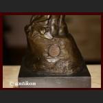 Pocałunek Rodin rzeźba z brązu prezent dla ukochanej