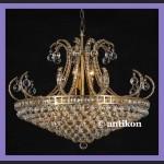 Kryształowy żyrandol pałacowy ogromny