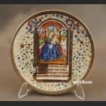 Talerze Bradex Biblioteka Watykańska komplet
