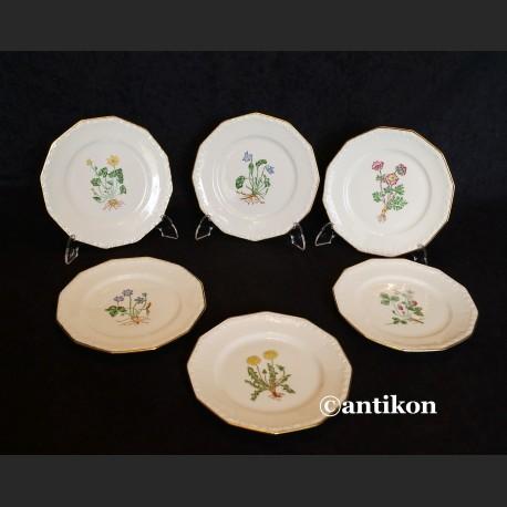 Rosenthal Maria z 1938 r. komplet ręcznie malowanych talerzyków