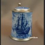 Kufle z żaglowcami prezenty dla marynarzy