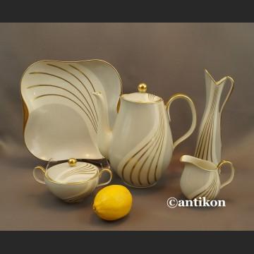 Serwis art deco bawarska porcelana Edelstein