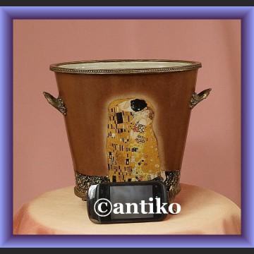 Donica porcelanowa Klimt żardiniera do kwiatów