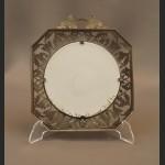 Myśliwskia dekoracja kaczki cyna z ceramiką