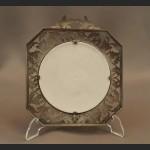 Myśliwskia dekoracja bażanty cyna z ceramiką