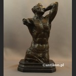 Popiersie tors męski rzeźba niezwykła