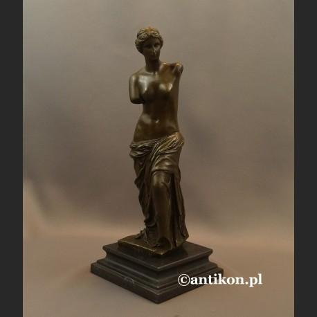 Wenus z Milo rzeźba z brązu klasyka do salonu