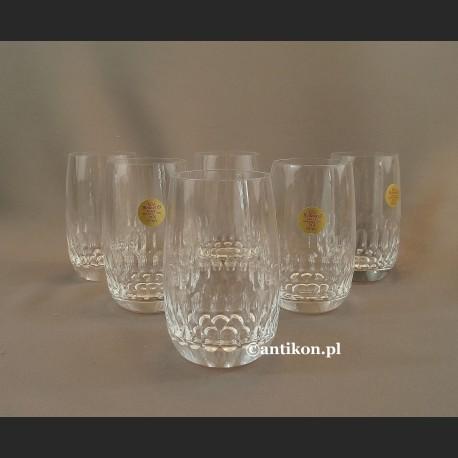 Szklanki kryształowe luksusowy komplet