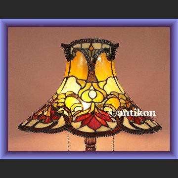 Lampa witrażowa rewelacyjna duża salonowa