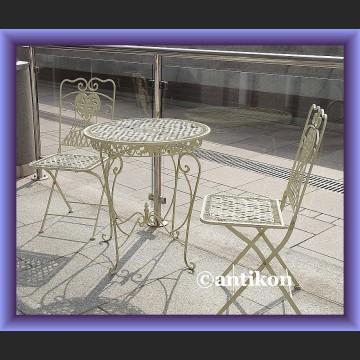 prowansalskie meble do ogrodu, na taras, balkon