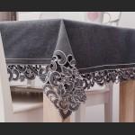 Obrus z haftem richelieu 140 x 220 na duży stół