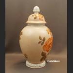 Porcelana Rosenthal wazon wielka kula z kwiatami
