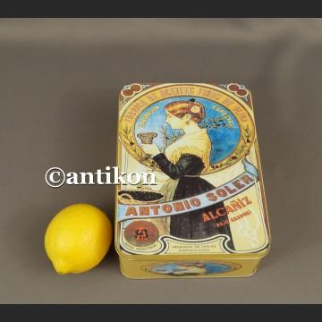 Retro puszka metalowa reklama oliwy z oliwek