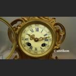 Zegar kominkowy Francja XIX w