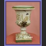 Donica porcelanowa z ważkami żardiniera do kwiatów