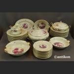 Serwis Rosenthal Ivory 12 osobowy obiadowy ze scenkami Unkat