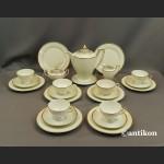 Thomas Ivory  Rosenthal  serwis kawowy dla 6 osób empire