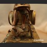 Zegar kominkowy antyk  Francja XIX wiek