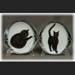 Mruczenie Kota zachwycająca  kolekcja talerzy kolekcjonerskich z kotami certyfikat