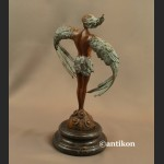 Ikar rzeźba nowowczesna z brązu