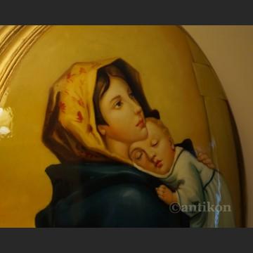 Madonna z Dzieciątkiem obraz wg Roberto Ferruzzi