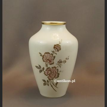 Bawarska porcelana porcelanowy wazon syg. Alboth  Kaiser